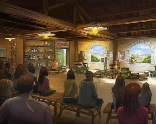 Jora Vision creating immersive wine attraction for Hameau Dubœuf
