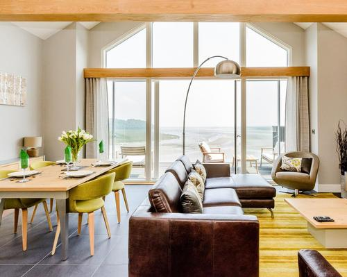 Built at a cost of more than £30m, Luxury Lodges Laugharne will feature an on-site Milkwood Spa set at the heart of the resort