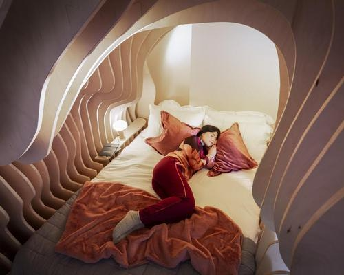 Simba and Cuckooz join up to improve sleep wellness with womb-like 'sanctuary' in London