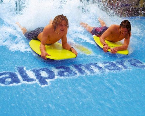 Alpamare's UK waterpark at Scarborough opened in 2016