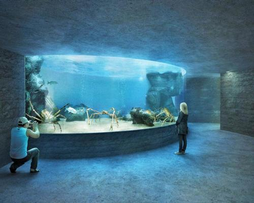 The aquarium will cost around US$100m (€88m, £76.7m) to build and is being backed by Zoo Basel