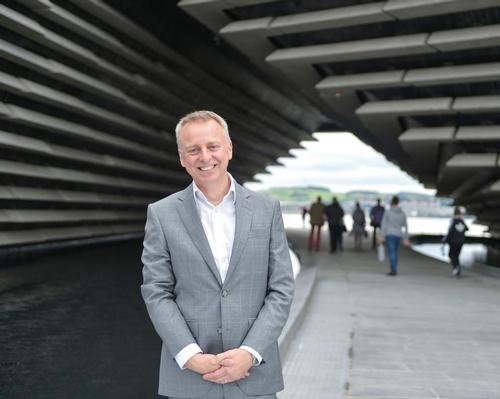 V&A Dundee director Philip Long hopes the museum will make deep connections with the local community