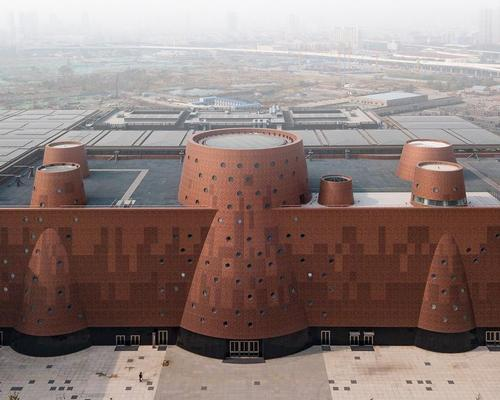 Tianjin Binhai Exploratorium is the architects' first large-scale project in China. / Photo by Kris Provoost