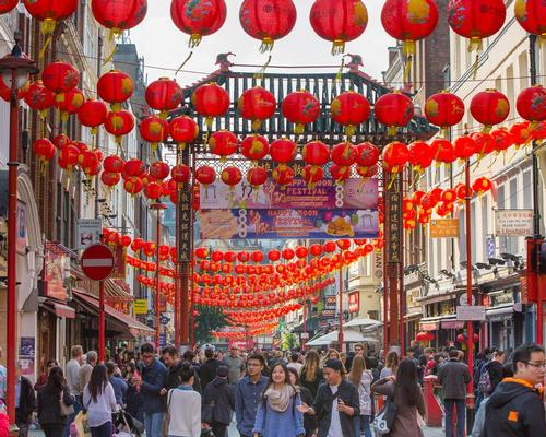 The increase in arrivals has partly been accredited to the growing trend of Chinese visitors wanting to celebrate the Chinese New Year in London