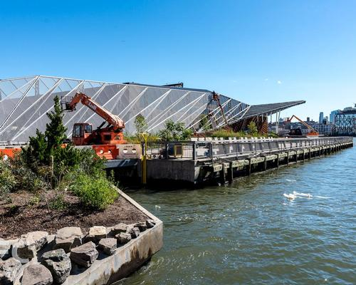 Pier 35 is part of the decade-long East River Waterfront Esplanade project. / Photo by Field Condition