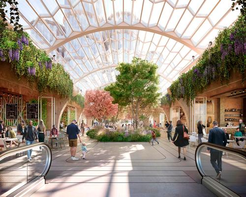 The expanded venue will feature 2.5 acres of new public realm. / Courtesy of Heatherwick Studio and SPPARC