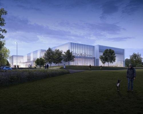 Designed by LA Architects, the Winchester Sport & Leisure Centre will house a 50m swimming pool