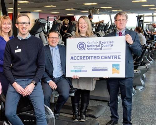 UK's first exercise referral accreditation scheme launched in Suffolk