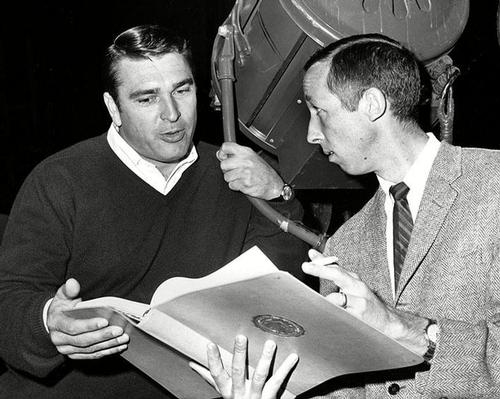 Ron Miller (left) worked his way up the Disney organisation through various roles, eventually becoming CEO