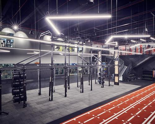 EXF created a bespoke functional training rig for Third Space