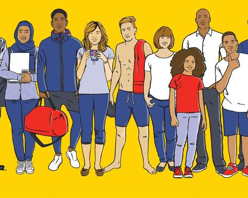 The marketing materials have been created to broaden the appeal of the role of lifeguards / RLSS UK