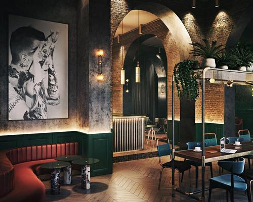 Developed by Marco Cilia, the hotel will have an industrial chic look. / Courtesy of Studio A
