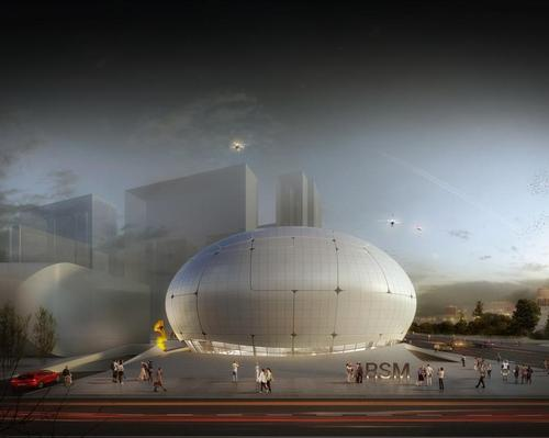 The Robot Science Museum (RSM) is taking shape in Seoul. / Courtesy of Melike Altinisik Architects