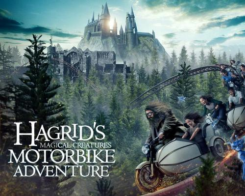 Hagrid's Magical Creatures Motorbike Adventure announced for June at Wizarding World
