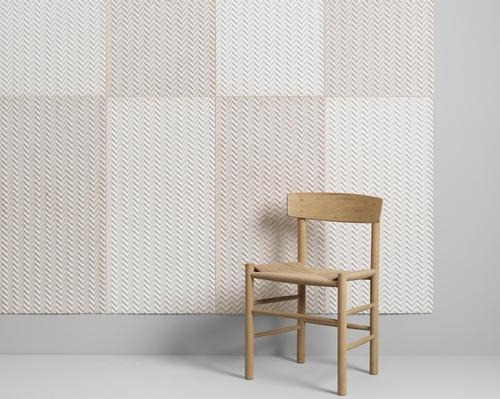 Baux has worked with scientists from the Royal Institute of Technology to create Baux Acoustic Pulp, a plant-derived acoustic solution