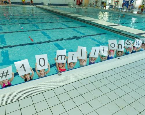 The campaign looks to achieve 10 million swims at Everyone Active pools by the end of 2019