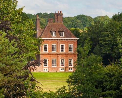 The hotel is located in a Grade II*-listed 17th-century former country club
