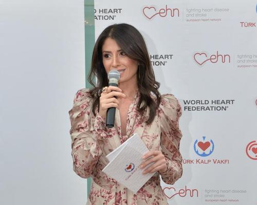 Aksoy has been active with the Turkish Heart Foundation for ten years