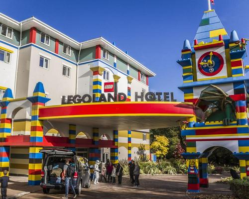 Merlin's Legoland Parks have benefited from a substantial increase in accommodation rooms in 2018 / Shutterstock