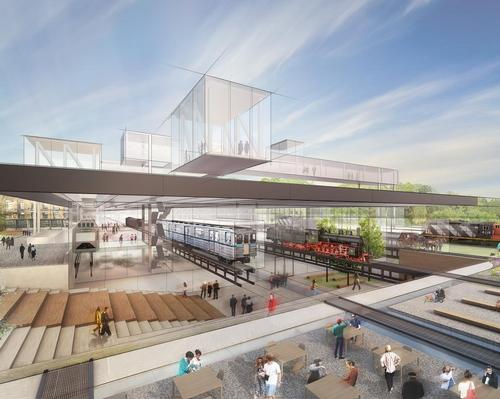 The museum is planning to double its annual visitor numbers to 350,000 with the move and the new home will feature exhibition spaces and learning areas. / Diller Scofidio + Renfro