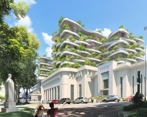 The future spa centre will be situated in Aix-les-Bains, France.