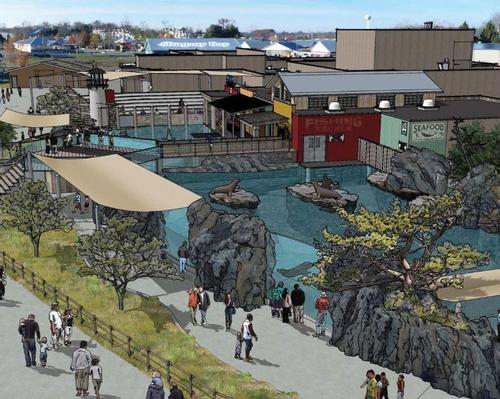 Construction underway on Columbus Zoo's new sea lion and seal habitat