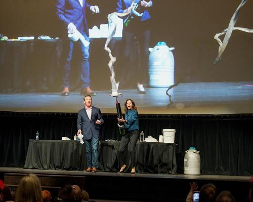 Colorado Air Force Academy's planetarium reopens with Steve Spangler show