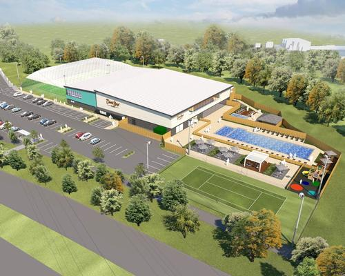 A rendering of how DLL's new club at Emersons Green, Bristol will look.