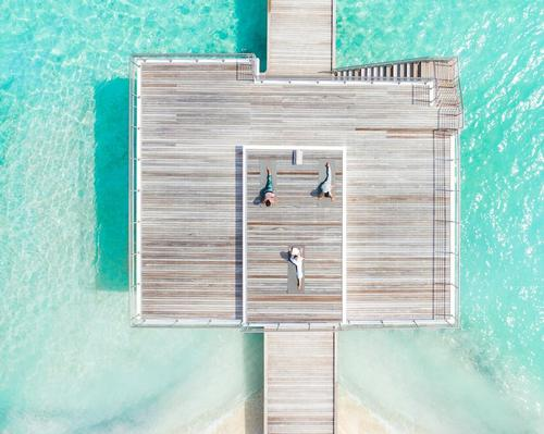 New Maldivian Lux Resort includes translucent overwater spa