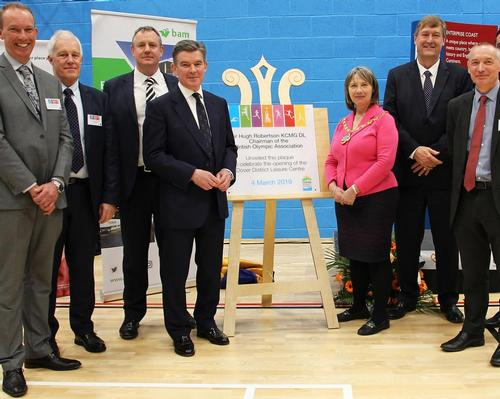 VIP visit gives new Dover leisure centre a strong opening