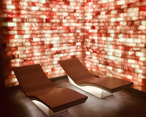 The new Sothys spa at the La Villa Cosy Hotel includes a Himalayan salt wall