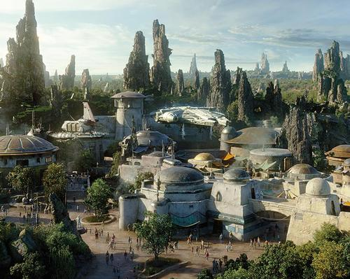 The opening at both parks will only see one of the two major attractions in the area open, however, that being Millennium Falcon: Smuggler's Run
