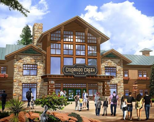 The carbon-neutral addition will be the theme park and resort's sixth hotel
