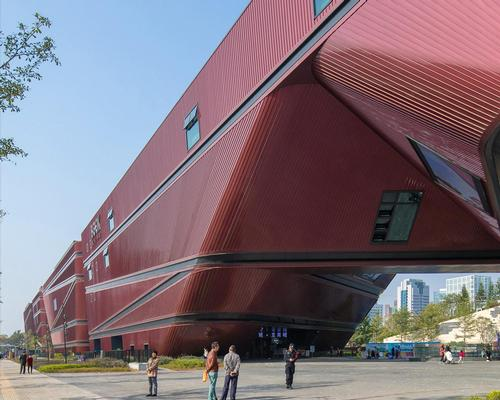 The newly completed attraction was designed by Dutch architecture firm Mecanoo. / Courtesy of Mecanoo