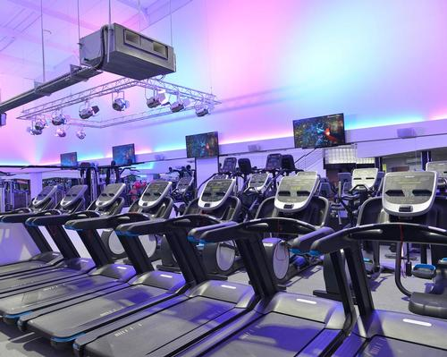 The new gym features an indoor cycling studio with 20 Precor Spinner® Shift™ bikes