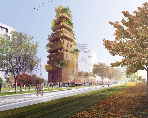 Completion date for Parisian 'garden tower' complex pushed back to 2020