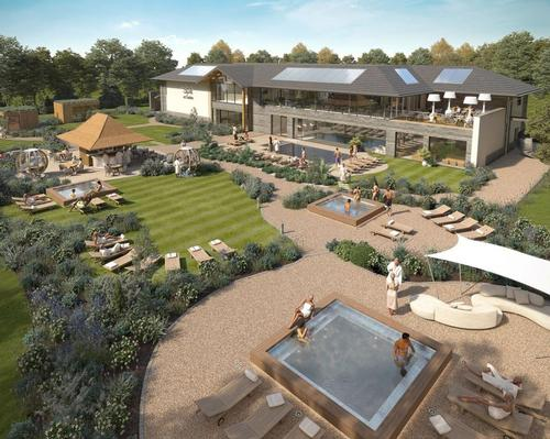 Carden Park unveils first look at upcoming spa garden