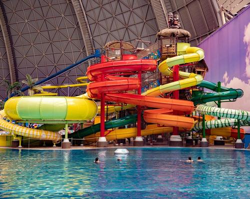 Polin creates new water play structure at Tropical Islands waterpark