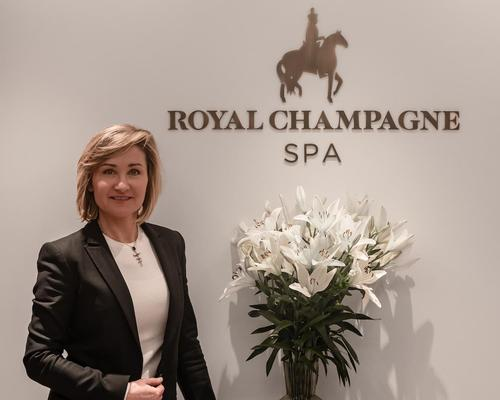 Anna Pierzak named spa director at Royal Champagne Hotel