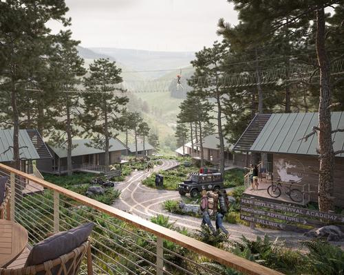 The attraction will feature a plethora of leisure and sports facilities, including a survival academy created by British explorer and ex-special forces serviceman Bear Grylls.
