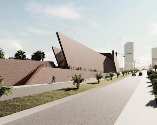The plans also include a cafe overlooking the coastline to the south and additional education and events spaces / Studio Libeskind