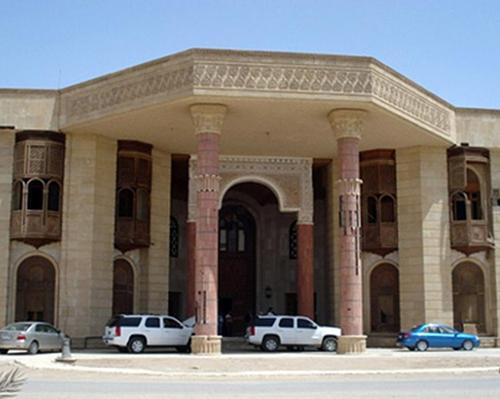 The Basra Museum is based at former Iraqi dictator Saddam Hussein's former palace in Basra