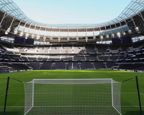 The stadium has the largest football pitch in London. / Courtesy of Tottenham Hotspur