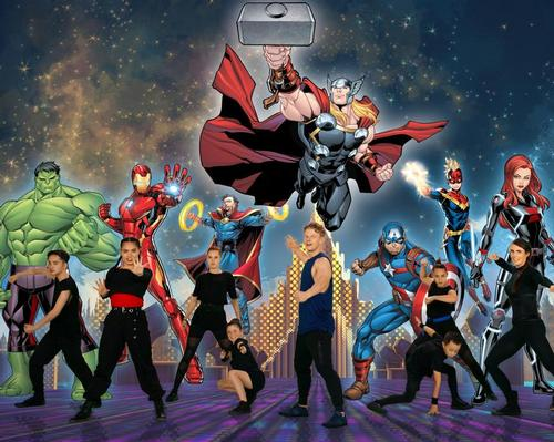 Les Mills recruits Marvel superheroes to get kids active