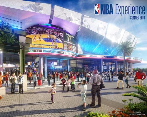 Disney's NBA Experience to open in August