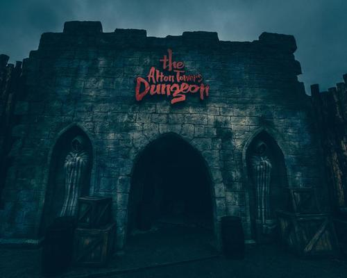 The Alton Towers Dungeon replaces the former Charlie and the Chocolate Factory ride at the theme park, which was permanently closed in 2015