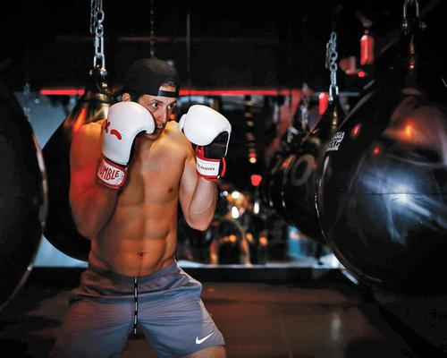 Rumble offers 45-minute, 10-round, strength and conditioning classes based on the 'science of boxing'