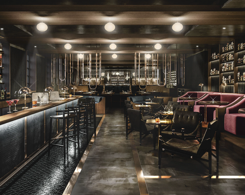 Lucky Cat is partly inspired by the drinking dens of 1930s-era Tokyo. / Courtesy of Gordon Ramsay Restaurants