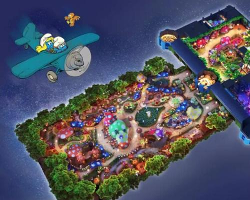Shimao Property Holdings to develop Smurfs themed land in Shanghai's Dream City