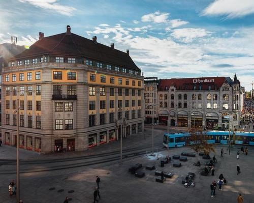 Amerikalinjen Hotel opened inside a Neo-Baroque building that dates back to 1919. / Courtesy of Nordic Choice Hotels